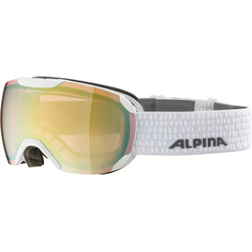Alpina Pheos S QVMM Gafas, white lightgold spherical